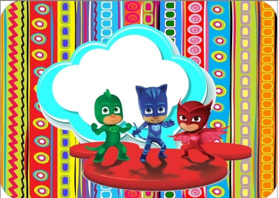 Candy bar pj masks gratis