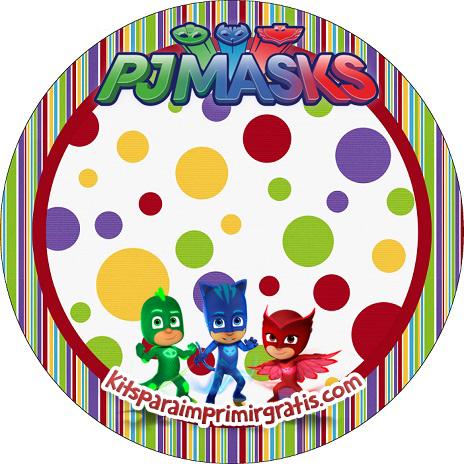 Pj Masks cumpleaños
