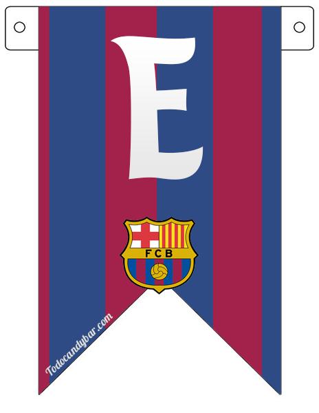 barcelona fc candy bar para descargar e imprimir gratis