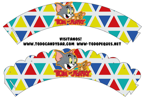 Wrappers Tom y Jerry