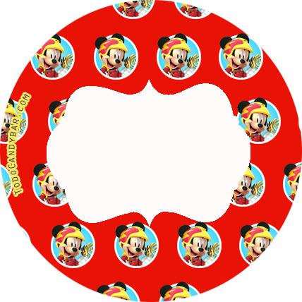 mickey sobre ruedas candy bar gratis