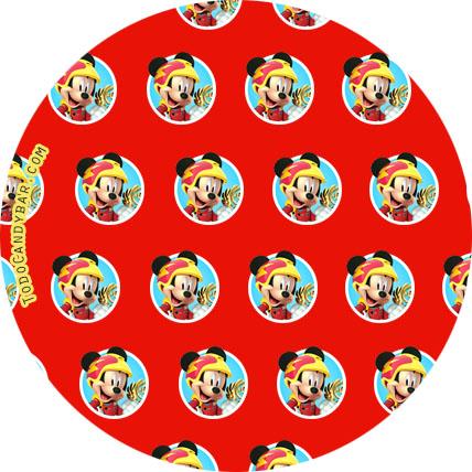 fiesta mickey sobre ruedas decoracion