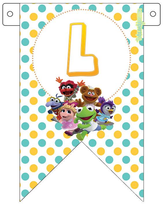 Decoracion muppets Babies