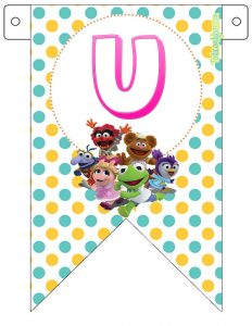 Muppets Babies Birthday Party printables free