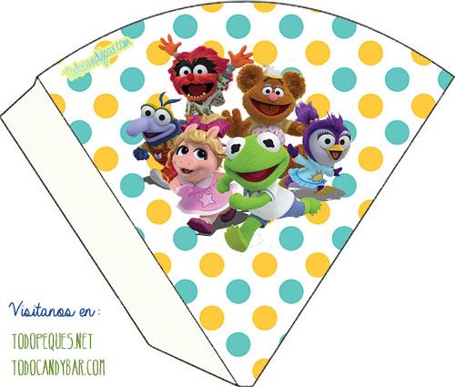 Dulceros Muppets Babies - cajitas imprimibles muppets babies - muppets babies party box