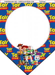 banderines toy story 4 para imprimir gratis candy bar toy story 4