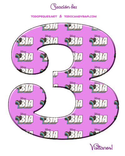 Numeros de BIA Disney