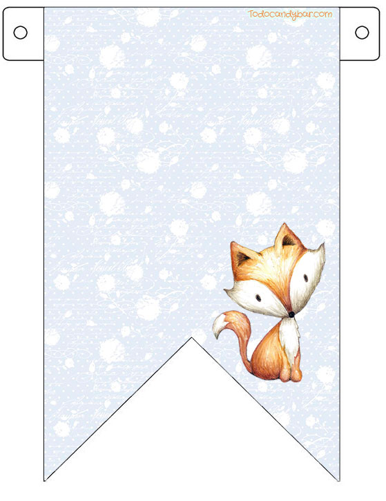 Little Fox printables Free