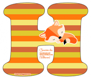 Little Fox Alphabet Letters little fox