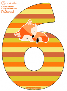 Little Fox Numbers