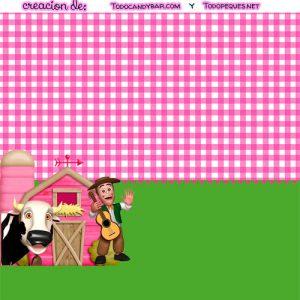 Candy bar gratis granja de zenon