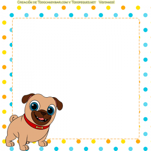 Kits imprimibles Puppy Dog pals para descargar gratis