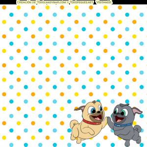 Kits imprimibles de Bingo y Rolly para descargar gratis