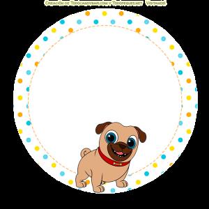 Puppy Dog pals stickers bingo y rolly