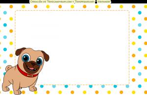 Stickers Puppy Dog Pals frames
