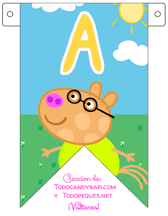 Peppa Pig Banner Free download