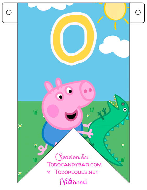 Banner Peppa Pig Free Download