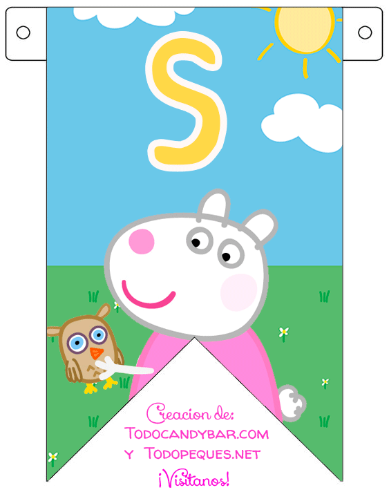 Banner free download peppa pig