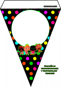 Banderines de Mini Beat power Rockers