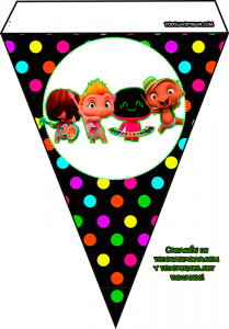 Mini Beat Power Rockers Birthday party printables free