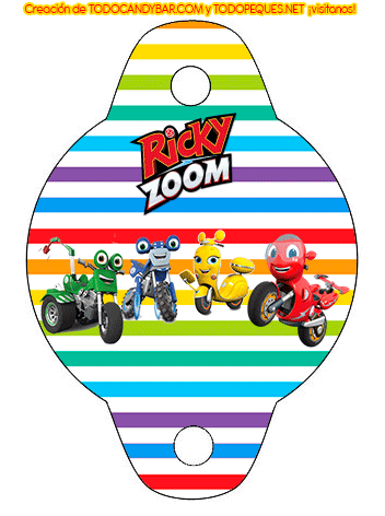 Birthday Party Ricky Zoom Printables