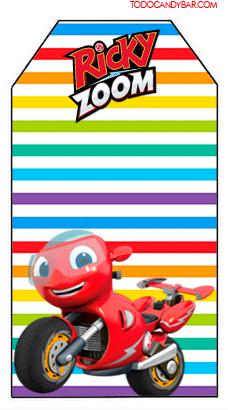 Ricky Zoom Marcadores de pagina infantiles para imprimir