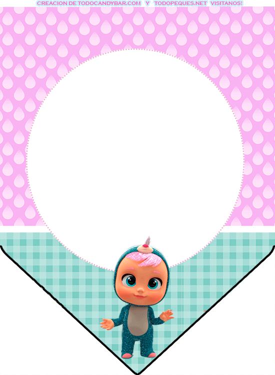 banderines de bebes llorones