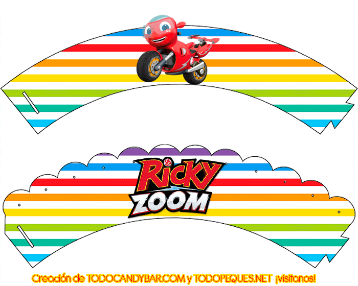 Candy bar Ricky Zoom descarga gratis