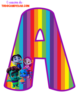Super Monsters Letters