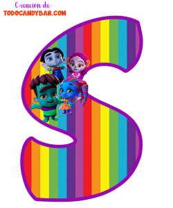 Super Monstruos alfabetos infantiles para imprimir