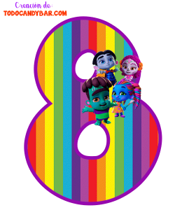 Super Monsters Numbers