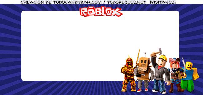 Convite Roblox tarjetas