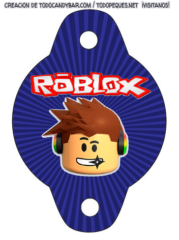 Imprimibles ROBLOX Cumpleanos