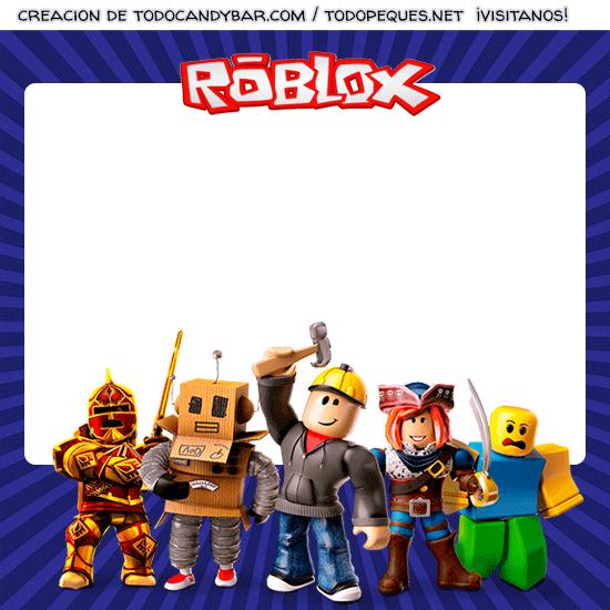 Tarjetas Roblox Convite