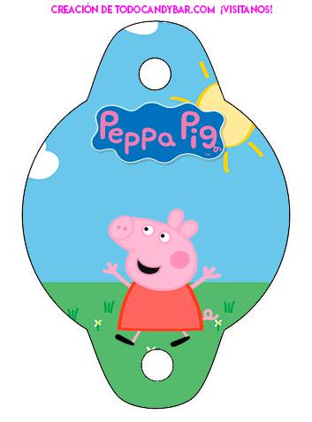 Free printables George y peppa pig