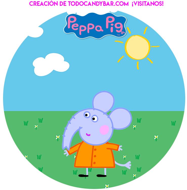Peppa Pig y amigos cumpleanos decoracion