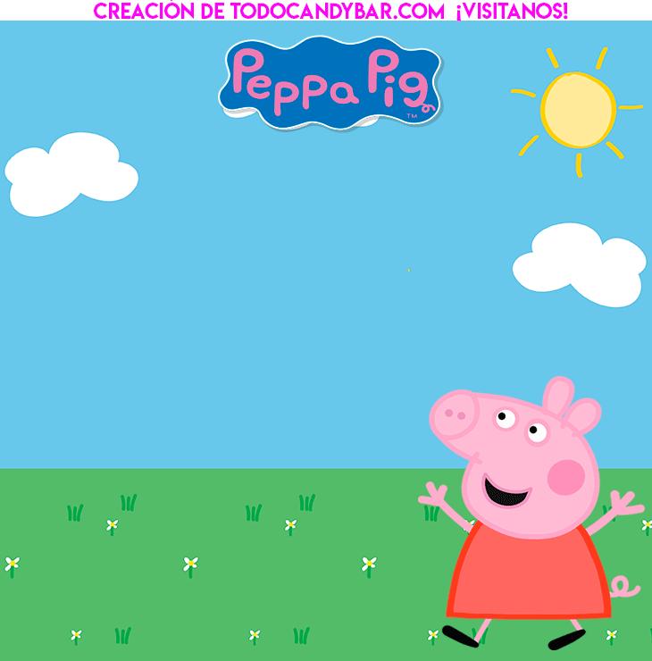 Peppa Pig Kits Imprimibles gratis