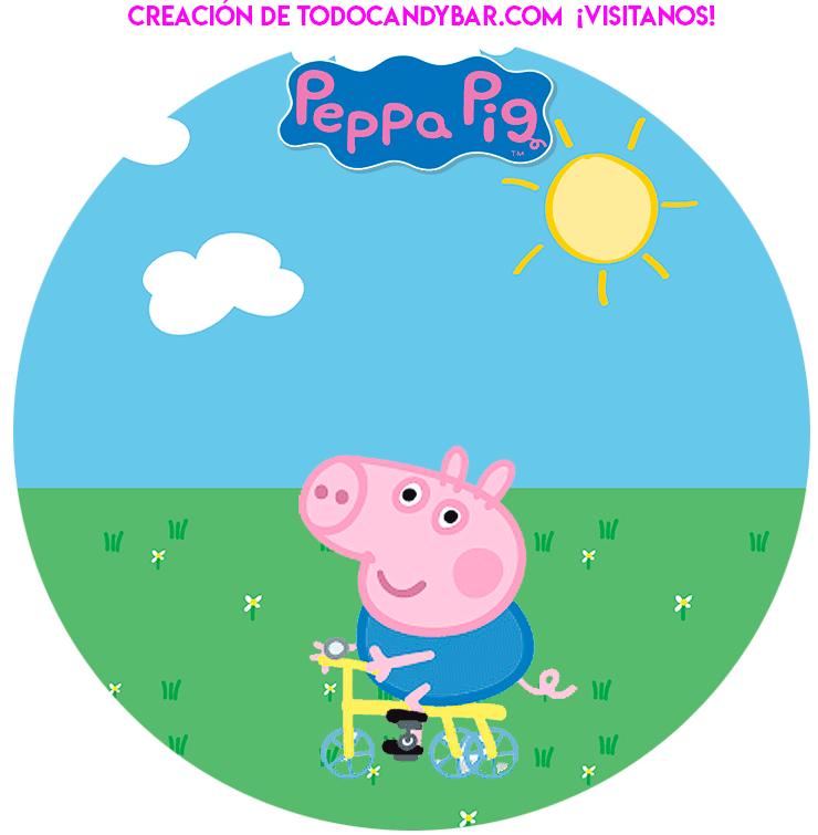 George Pig Birthday Party Printables