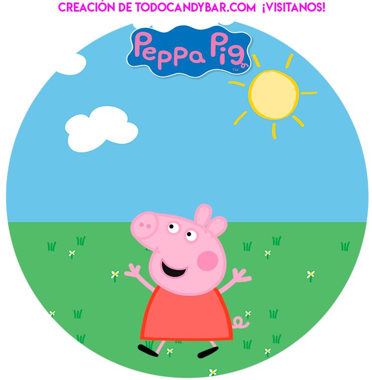 stickers peppa pig y amigos