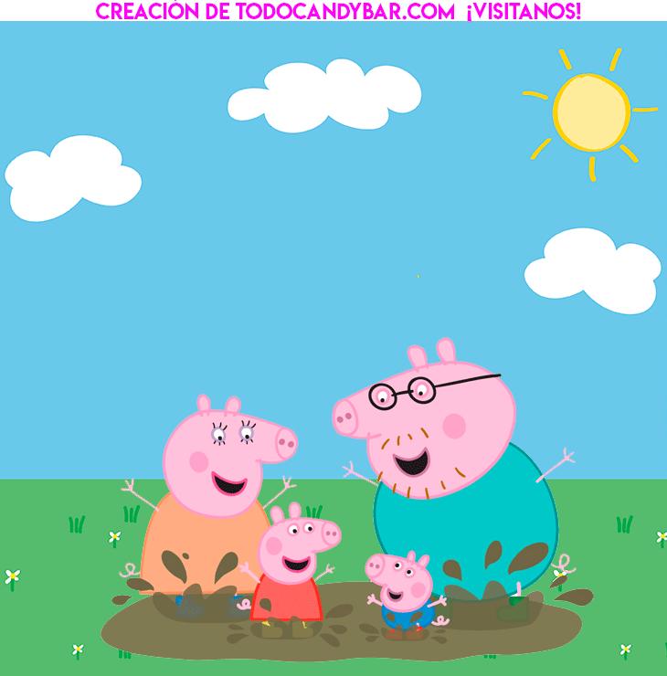 Convite Peppa Pig George Pig