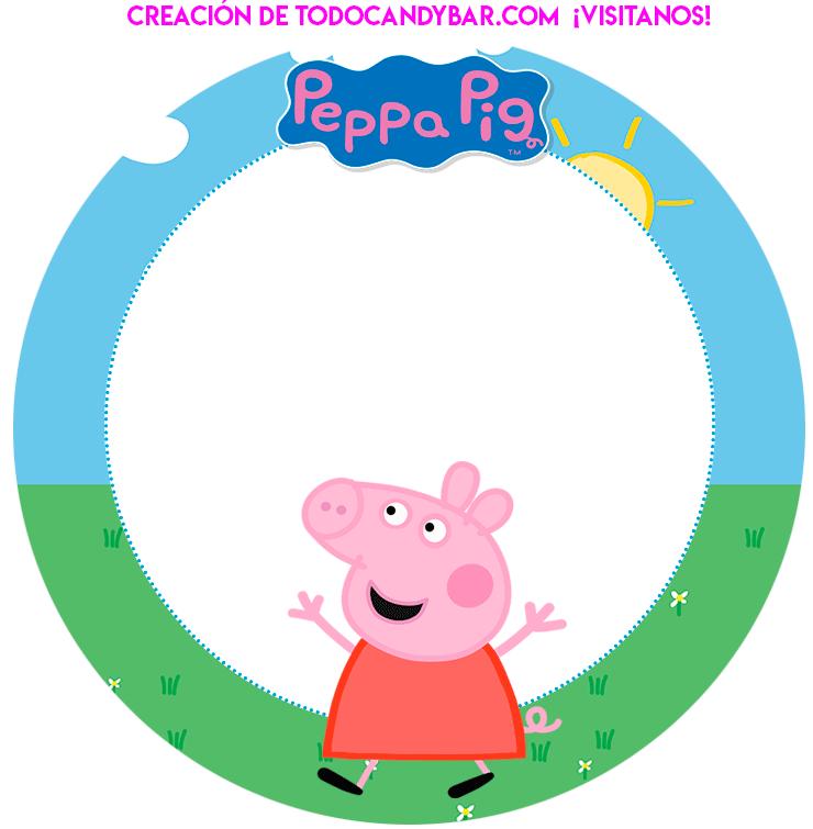 Peppa pig y amigos kits Imprimibles gratis