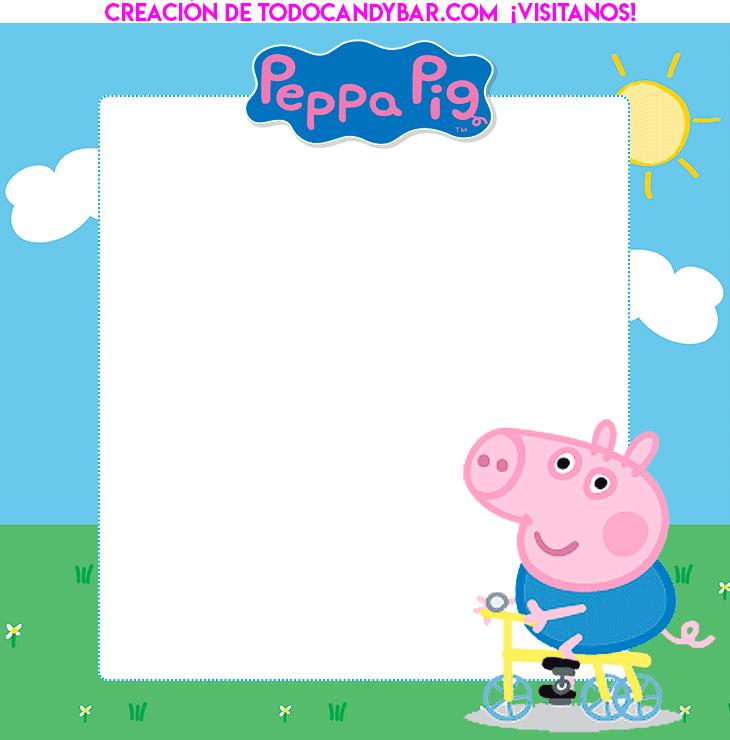 George Pig kits Imprimibles gratis